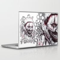 ahs Laptop & iPad Skins featuring xoxo Twisty by marziiporn