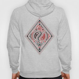 83 Drops - Diamonds (Red & Black) Hoody