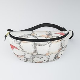 Oh Penguin Tree Fanny Pack