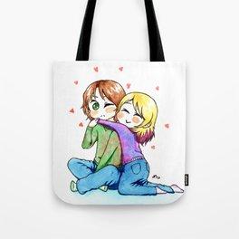 Surprise Hug! Tote Bag