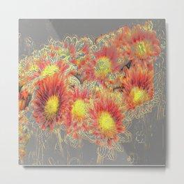 Dreamy flowers Metal Print