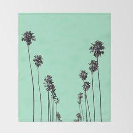 Palm Trees 9 Throw Blanket