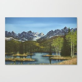 Frontier Spring Canvas Print