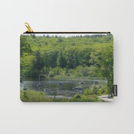 Boats on the Lake, Wellesley College Carry-All Pouch