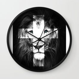 JESUS Lion of Judah Wall Clock