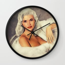 Jayne Mansfield, Hollywood Legend Wall Clock