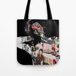 Karlie Collage Tote Bag