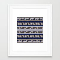 greek Framed Art Prints featuring Greek by Mr and Mrs Quirynen