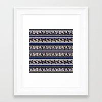 greek Framed Art Prints featuring Greek by Mr & Mrs Quirynen