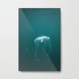 Yellyfish Metal Print