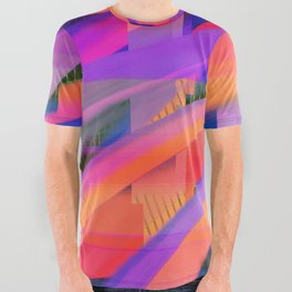 Color Wave ~020~ All Over Graphic Tee