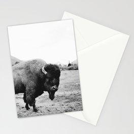 Alaska Bison Stationery Cards