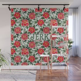 Jerk - Vintage Floral Tattoo Collection Wall Mural