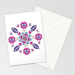 Love Mandala Stationery Cards