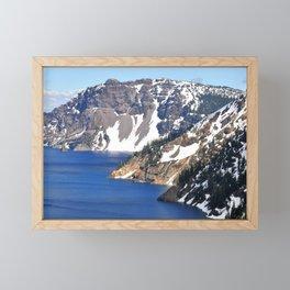 CRATER LAKE - 1 Framed Mini Art Print