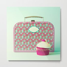 Cute Lunch Metal Print