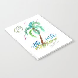 """Beach Afternoon"" Notebook"