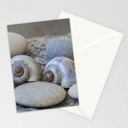 Zen Still Life Shells And Pebble Stationery Cards