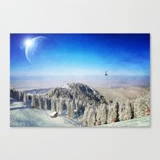 Between Worlds Canvas Print