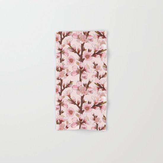 Cherry Blossom #16 Hand & Bath Towel