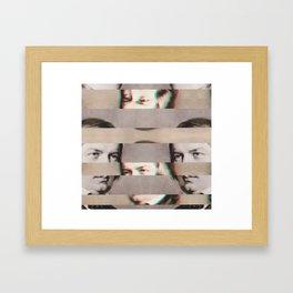 The Decomposed Composer Schumann Framed Art Print