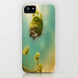 Man Made Hawaiian Island iPhone Case