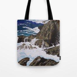 Coastal Falls Tote Bag