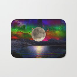 You Are My Moon Bath Mat