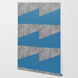 Geometry 101 Saltwater Taffy Teal Wallpaper