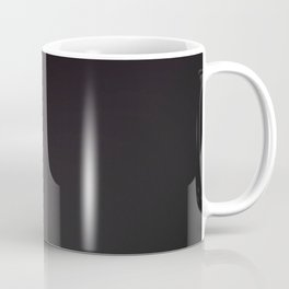 Tiger, wild pink on black Coffee Mug