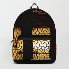 GoldenGlow Backpack
