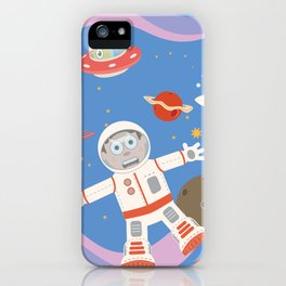 In Space No One Can Hear You Scream! iPhone Case
