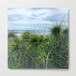 Beachside garden Metal Print
