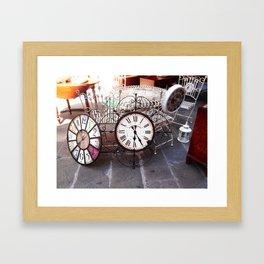 Take Your Time Framed Art Print