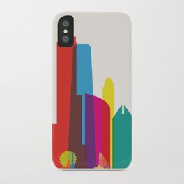 Shapes of Chicago. Accurate to scale iPhone Case