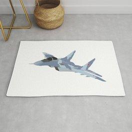 Russian Jet Fighter MiG-29 Rug