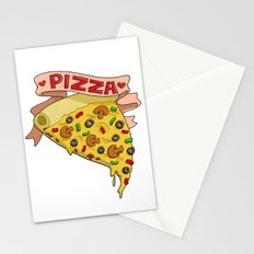 Pizza LOVE Stationery Cards
