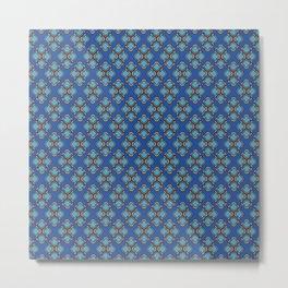 Middle Eastern Pattern Metal Print