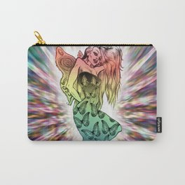 Rainbow Unicorn Nymph Carry-All Pouch