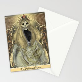 Parliament Tarot Card Stationery Cards
