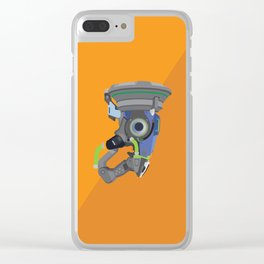 Lucio's Sonic Amplifier Postcard Clear iPhone Case