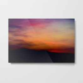 Afterglow II Metal Print