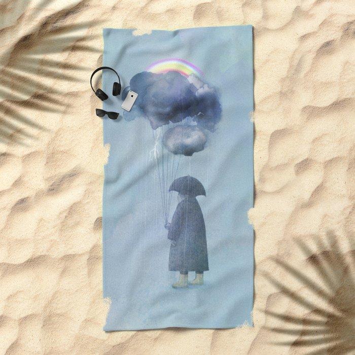 The Cloud Seller Beach Towel
