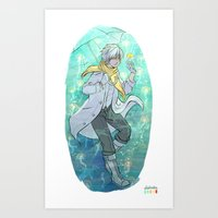 clear Art Prints featuring Clear by Aleksandra Chabros aka Adelaida