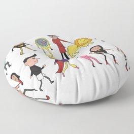 Street Life Floor Pillow