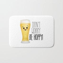 Beer | Don't Worry Be Hoppy Bath Mat