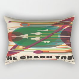 The Grand Tour : Vintage Space Poster Rectangular Pillow
