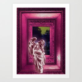 Angel of Bristol (PINK) Art Print