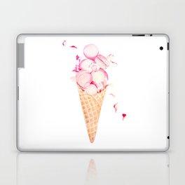 Pink Macaroons Rose Ice Cream Fashion Stylish Minimalism Food Laptop & iPad Skin