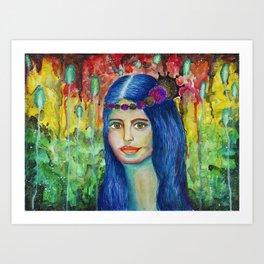 Princesa interestelar Art Print